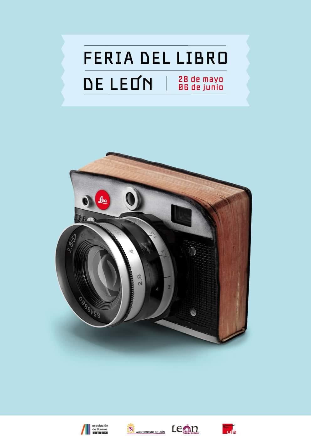 Cartel de la Feria del Libro de León - 2021